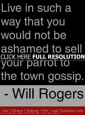will rogers, quotes, sayings, live, life, good
