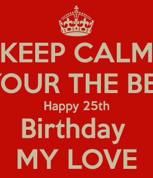 A025 Happy 25th Birthday 025-01