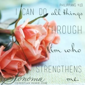 God is my Strength!