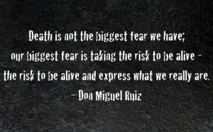 Description for not-fear-inspirational-death-quotes-wallpaper