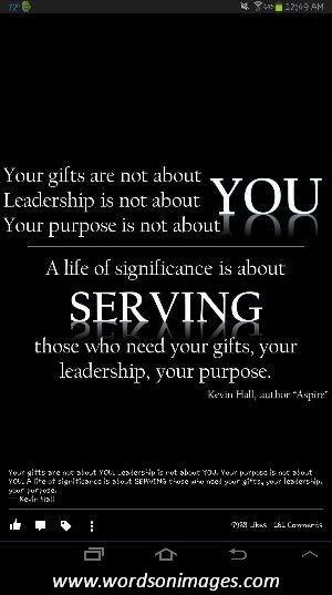Stewardship quotes