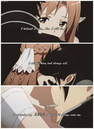 Sword Art Online---Just finished it, and now my feels are in pieces.