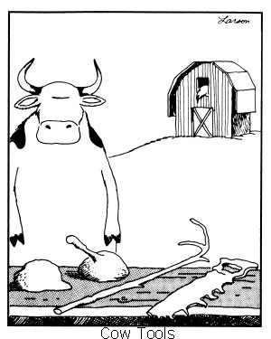 ... about cow tools. Anyone have the time to explain what's going on