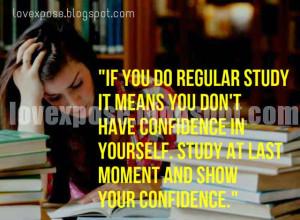 funny study quotes exam status joke