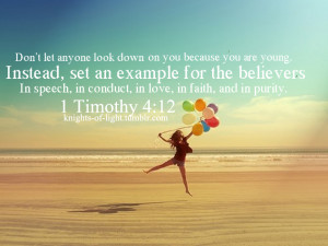 Christian Youth Inspirational Quotes