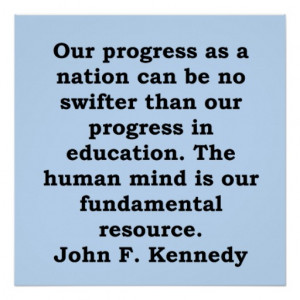 john f kennedy quote posters