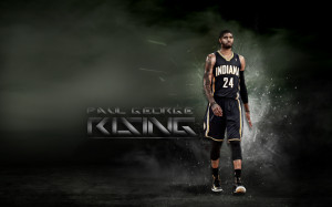 Paul George Rising Wallpaper