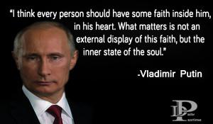 ... good speaker. Now, we represent you top 10 quotes of Vladimir Putin
