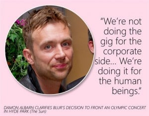 Damon Albarn (© Press Association)