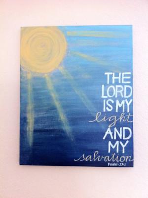 ... - Bible Verse Art - Made to Order - ORIGINAL16x20x3/4 Painting