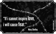 ... favorites!!! I adore Mary Shelly! Famous horror quotes - Mary Shelley
