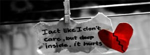 Broken Heart Hurt Fb Cover