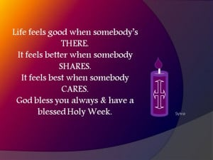 Holy week quotes