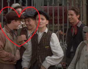 Now, we are panning over all the newsies and they somehow progress in ...