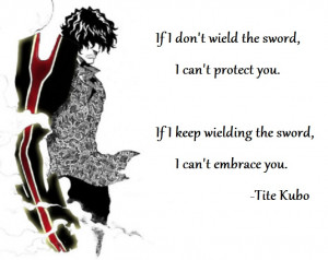 ... protect you. If I keep wielding the sword, I can't embrace you