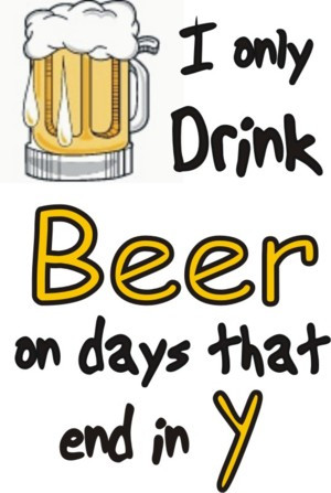 Only Drink Beer