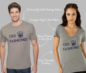 Old Fashioned - Funny Quotes - Cool Shirts - Funny T-Shirts