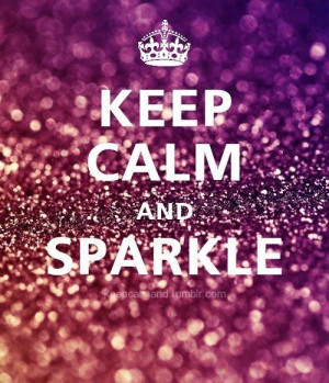 glitter, keep calm, pink, sparkle
