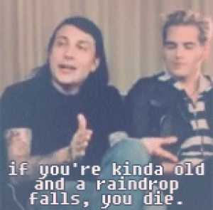 Frank Iero | Funny Quotes | words of Wisdom