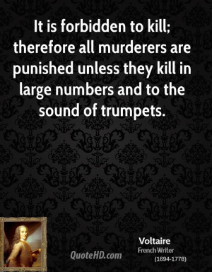 Voltaire War Quotes