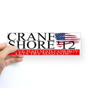 Denny Crane for President Bumper Sticker