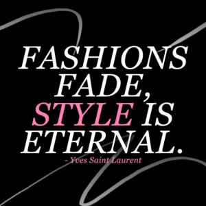 fashion and style is not only all the amazing clothes shoes and ...