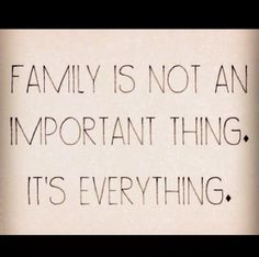 Family Over Everything