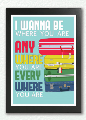 Michael Jackson Inspired, Quote Poster, I Wanna Be Where You Are, Pop ...