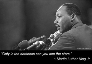 Martin Luther King, Jr. inspirational words