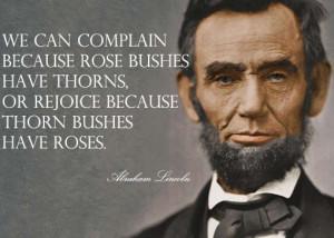 Good Morning Sunday: 20 Abraham Lincoln Leadership Quotes