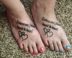 21st Birthday Quotes For Twin Sister ~ Sister tattoos on Pinterest ...