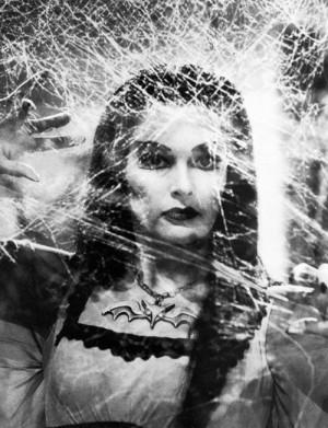 Yvonne De Carlo as Lily Munster, via vintagegal .