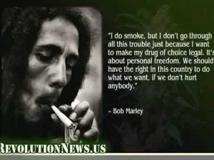 Just your day to day narmal people, talking about weed