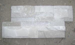 White Quartzite Cultured Stone Veneer