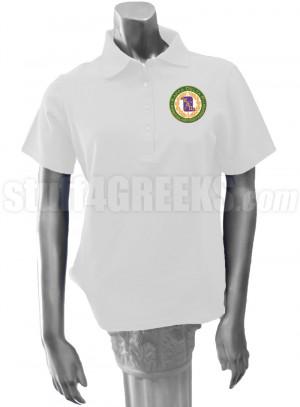 kappa delta pi polo shirt description white kappa delta pi ladies polo ...