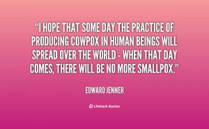 Edward Jenner Quotes