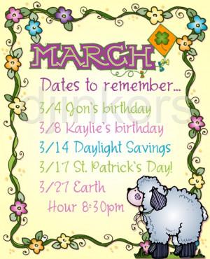 march month clip art
