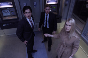Josh Peck, Brian Geraghty and Alice Eve in ATM, directed by David ...