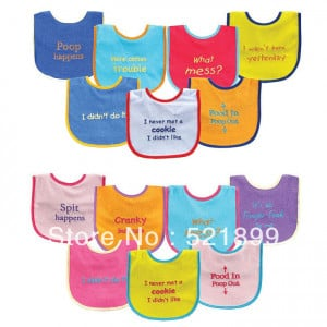 Cute Baby Bib Sayings Bold sayings baby bib(