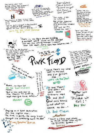 Best Pink Floyd quotes.