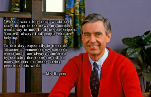 Mr. Rogers' Advice On Talking To Kids About Tragic Events