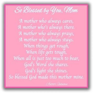 Mothers Day Prayers Sayings