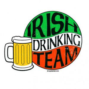 Irish Drinking Quotes Irish drinking team beer mug