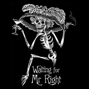 Waiting For Mr. Right – T-Shirt