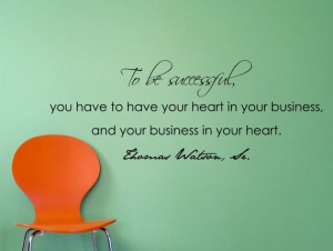 Thomas Watson Sr. Motivational Business Quote Wall by MyVinylStory, $ ...
