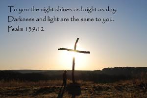principiante › Portfolio › Sunrise on Easter Sunday - with Bible ...