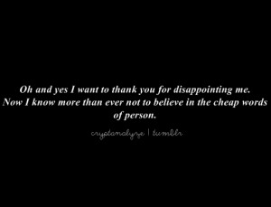 friendship disappointment quotes friendship disappointment quotes ...