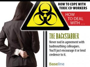 Backstabber At Work With the backstabber