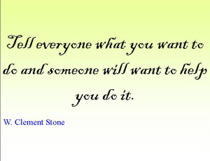 Quote of the Day : W. Clement Stone