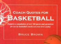 Quotes For Basketball Coaches #1